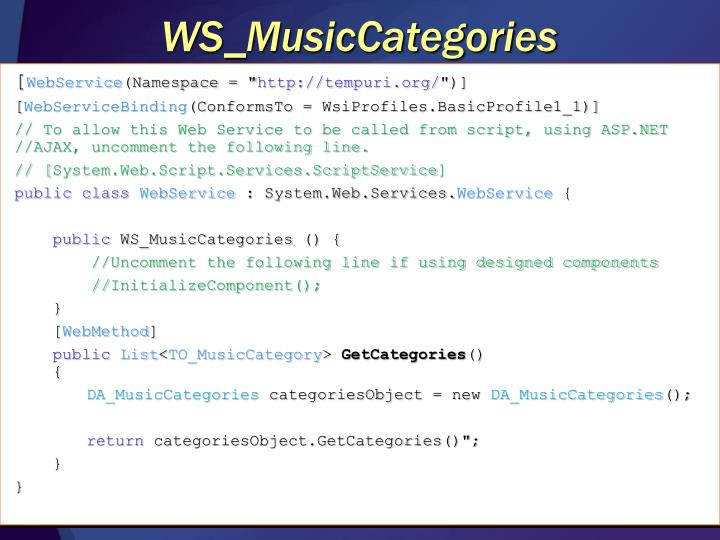 WS_MusicCategories