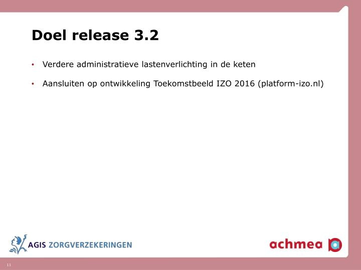 Doel release 3.2