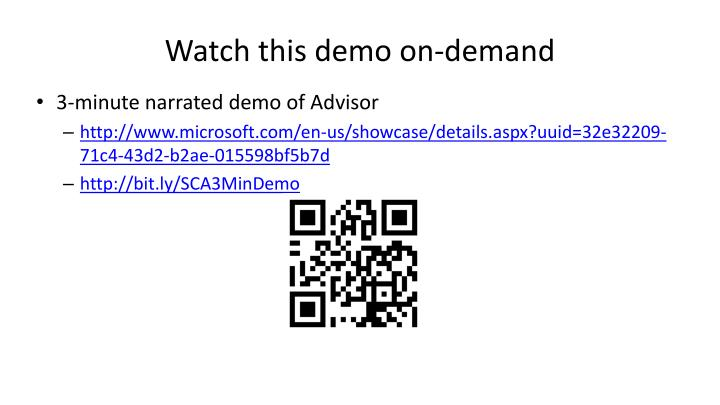 Watch this demo on-demand