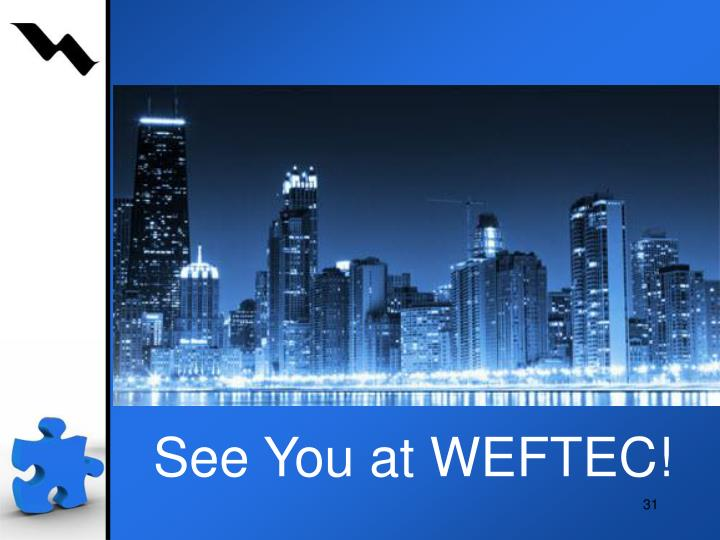See you at WEFTEC!!!!
