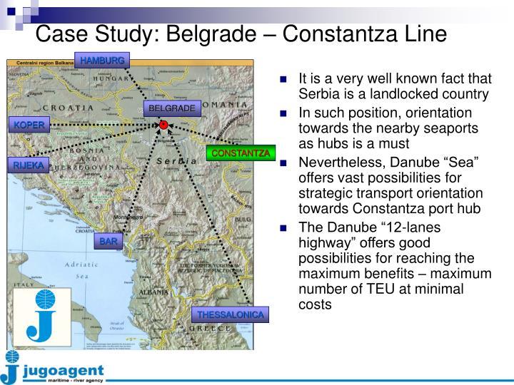 Case Study: Belgrade – Constantza Line