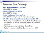 european sea gateways