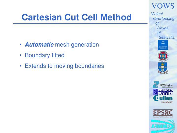 Cartesian Cut Cell Method