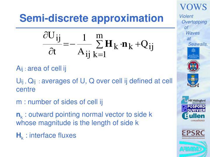 Semi-discrete approximation