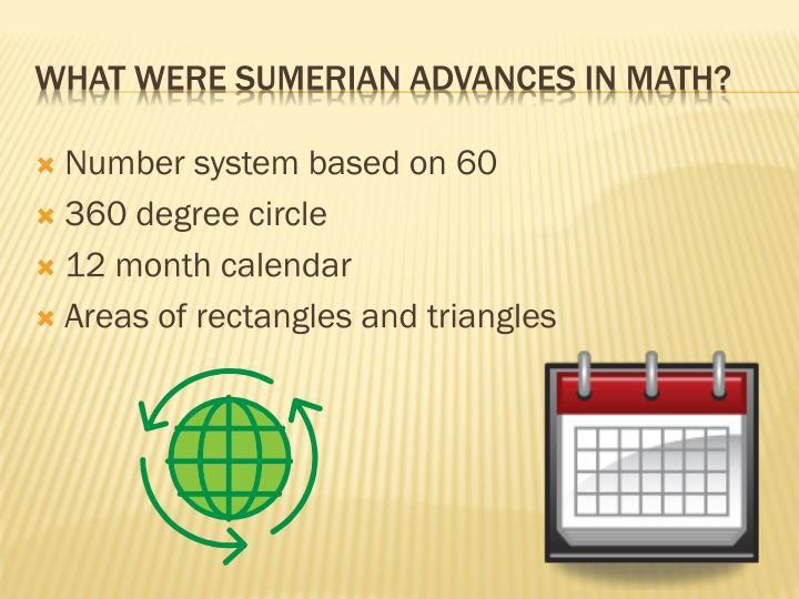 Number system based on 60