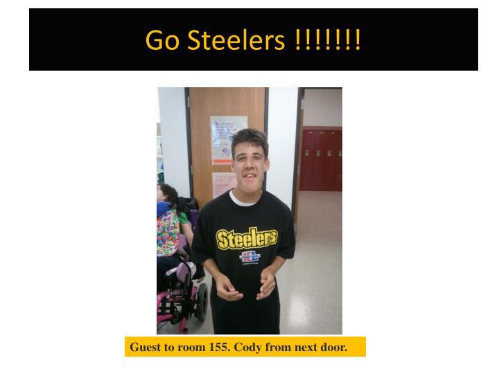 Go Steelers !!!!!!!