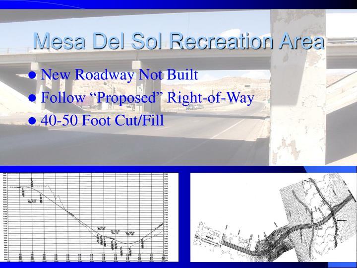 Mesa Del Sol Recreation Area