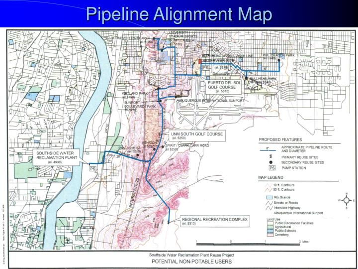Pipeline Alignment Map