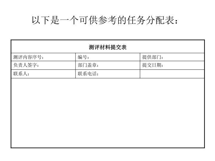 以下是一个可供参考的任务分配表: