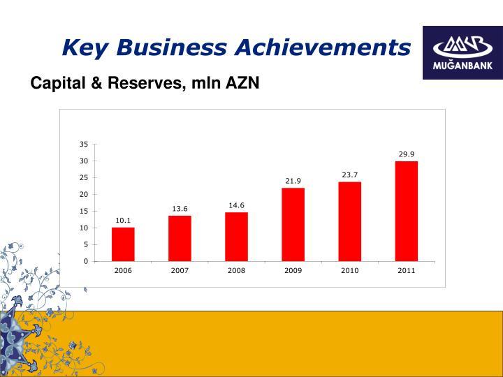 Key Business Achievements
