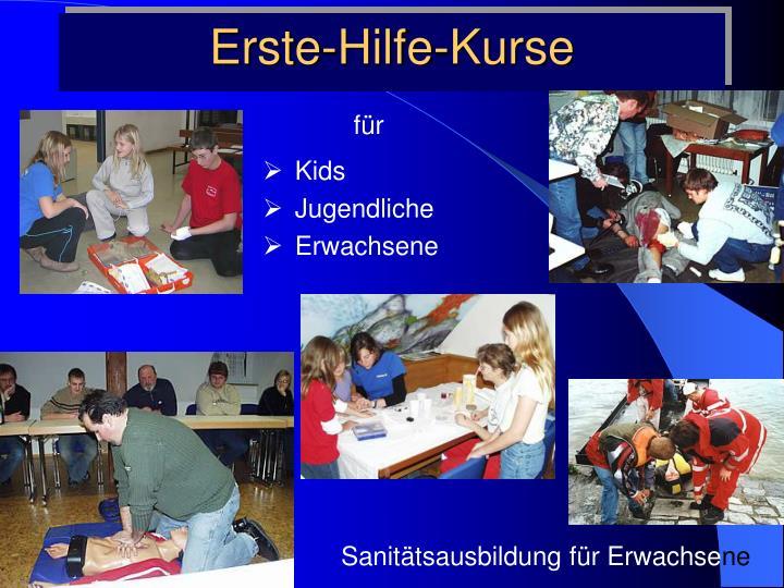 Erste-Hilfe-Kurse