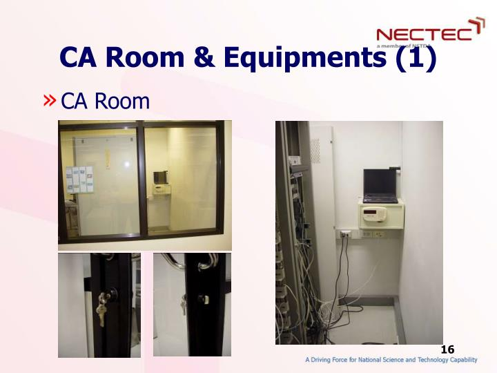 CA Room & Equipments (1)