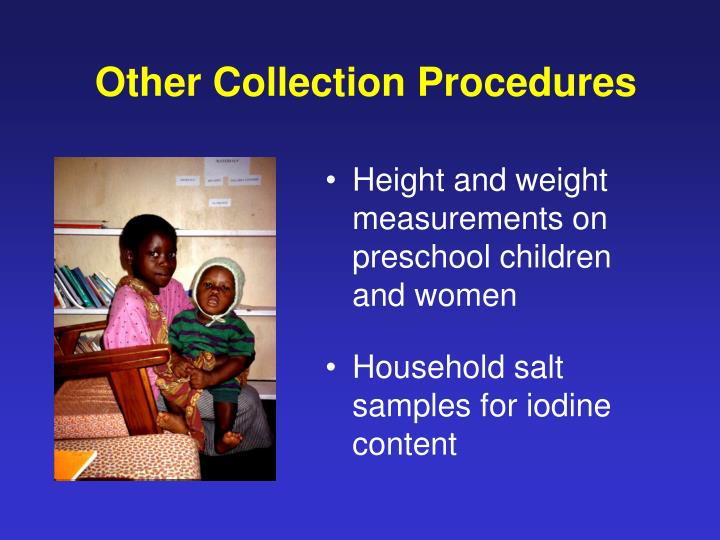 Other Collection Procedures