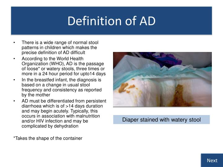 Definition of AD