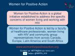 women for positive action1