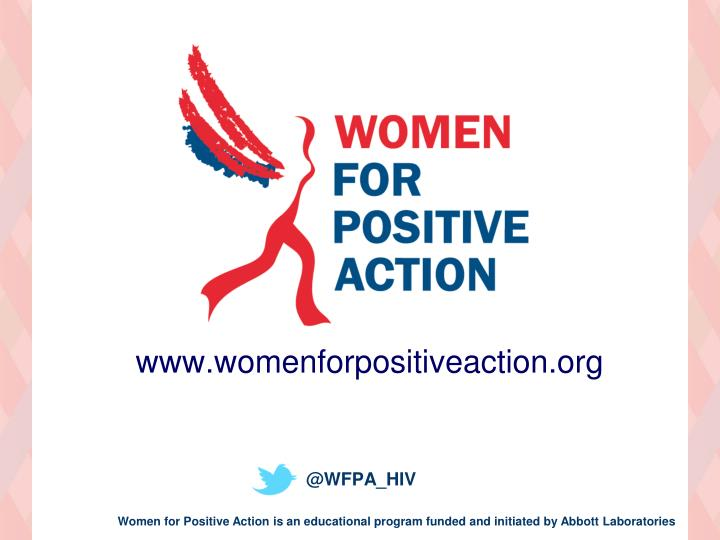 www.womenforpositiveaction.org