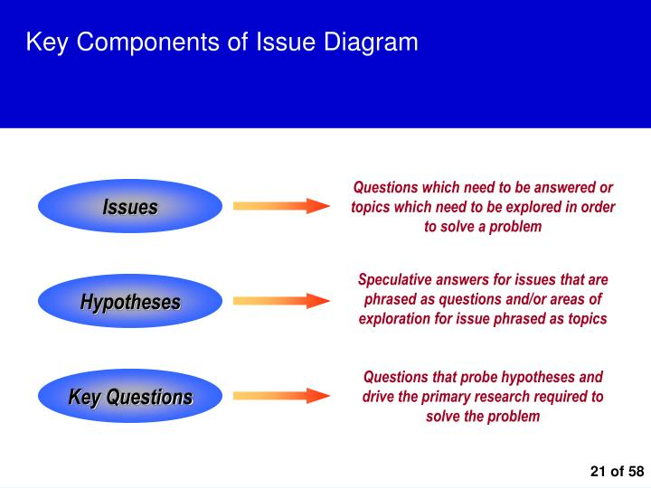 Key Components of Issue Diagram