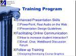 training program2