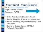 your turn your reports1