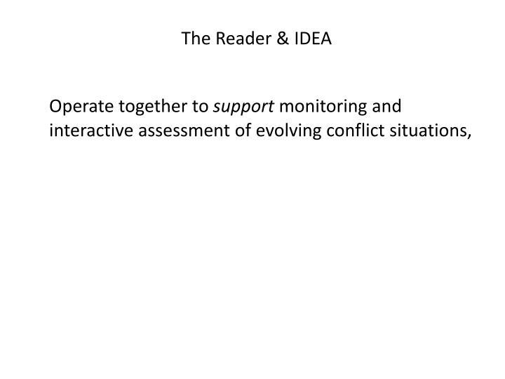 The Reader & IDEA