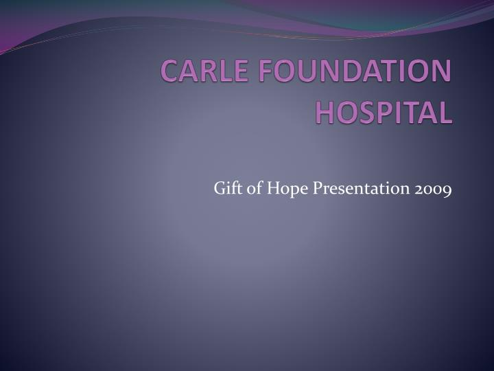 carle foundation hospital