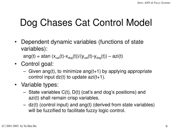 Dog Chases Cat Control Model