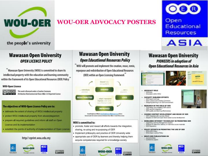 WOU-OER ADVOCACY POSTERS