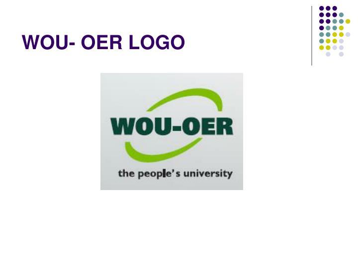 WOU- OER LOGO