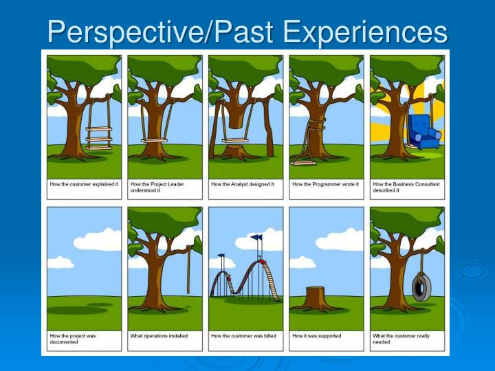 Perspective/Past Experiences