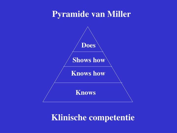 Pyramide van Miller