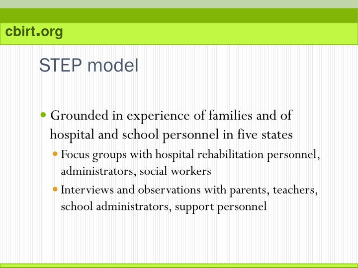 STEP model