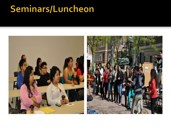 Seminars/Luncheon