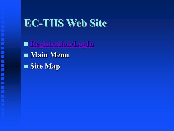 EC-TIIS Web Site