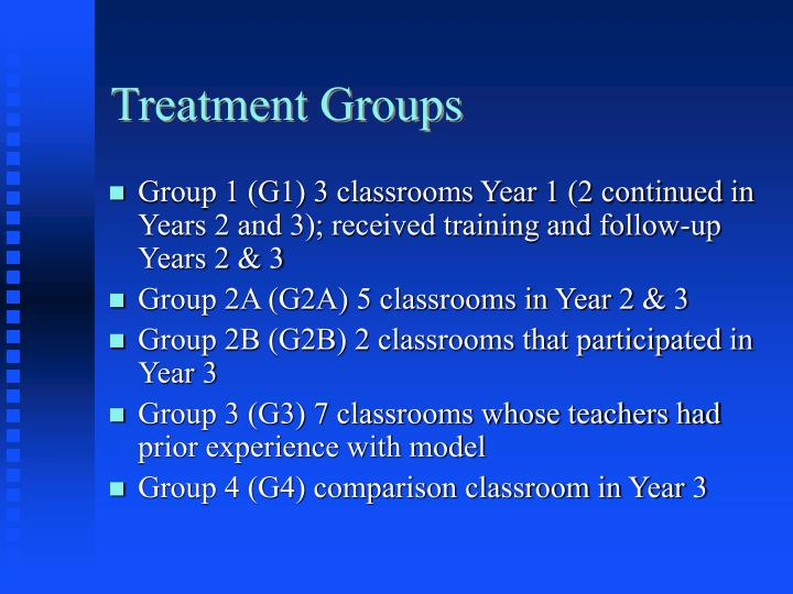 Treatment Groups