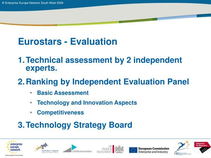 Eurostars - Evaluation