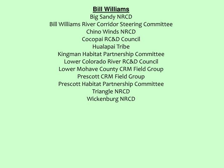 Bill Williams