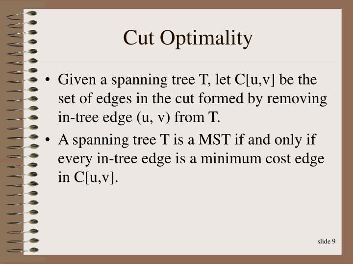 Cut Optimality