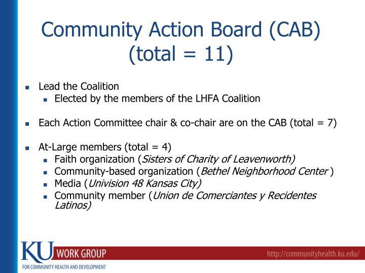 Community Action Board (CAB)