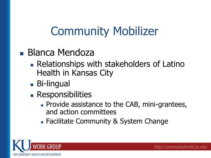 Community Mobilizer