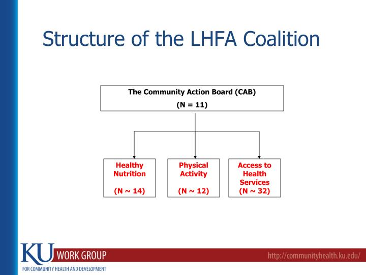 Structure of the LHFA Coalition