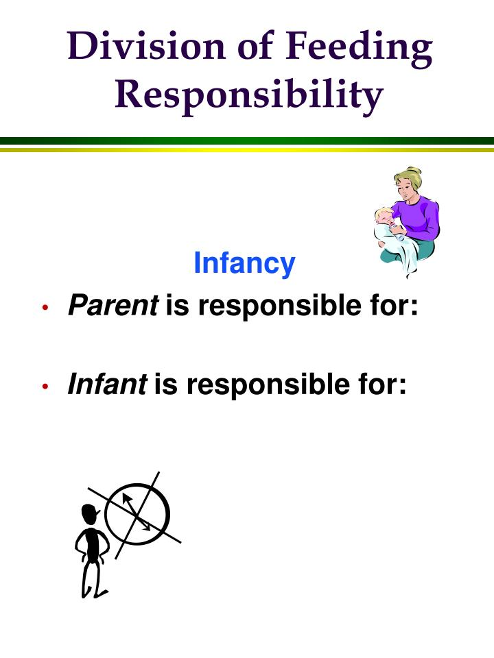 Division of Feeding Responsibility