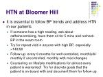 htn at bloomer hill