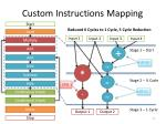 custom instructions mapping