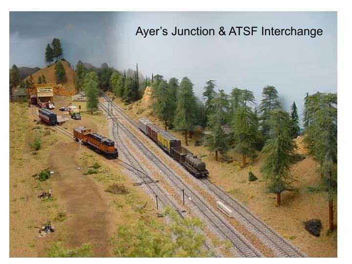 Ayer's Junction & ATSF Interchange