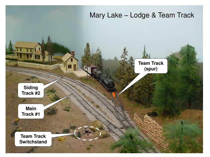 Mary Lake – Lodge & Team Track