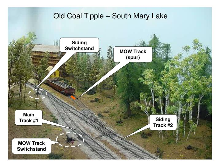 Old Coal Tipple – South Mary Lake