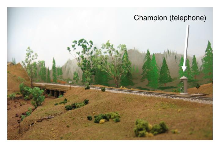 Champion (telephone)