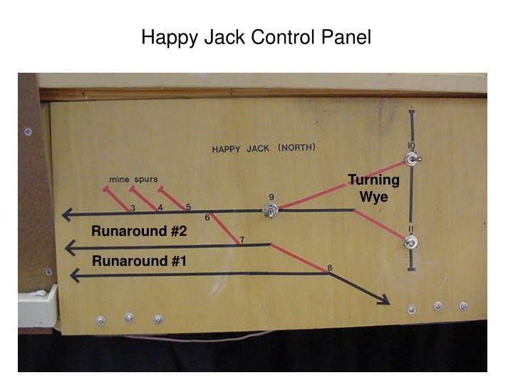 Happy Jack Control Panel