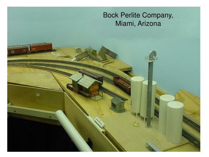 Bock Perlite Company,