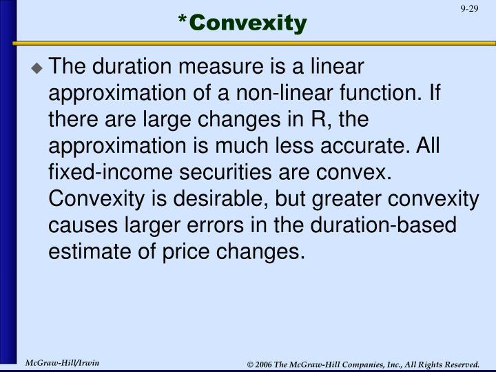 *Convexity